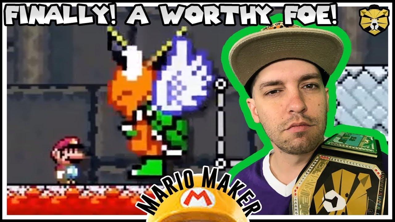 Bowser Sends His Strongest Warrior! Super Mario Maker