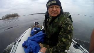 Лодочный мотор fisher 2.5, 2 чел+100 кг груза 8км/ч 1/2 газа