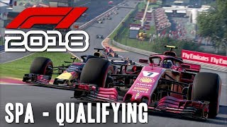 F1 2018 Online w/ Beef & Cone [23] Spa Qualifying