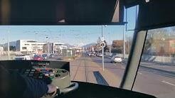 [Tram Cab Ride] Ligne 18 du tramway de Genève / CERN ➡ Lancy-Bachet-Gare
