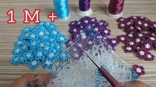 🌼 Sipariş Rekorları Kıran Muhteşem Tığ İşi Motifım 😀🌼 Çok güzel oldu 👏Turkish Handmade/Knitting