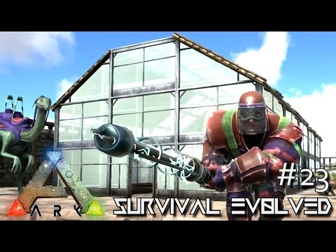 ARK: Survival Evolved - SWAT ARMOR - ELECTRIC PROD - GREEN HOUSE !!! - SEASON 3 [S3 E23] (Gameplay)