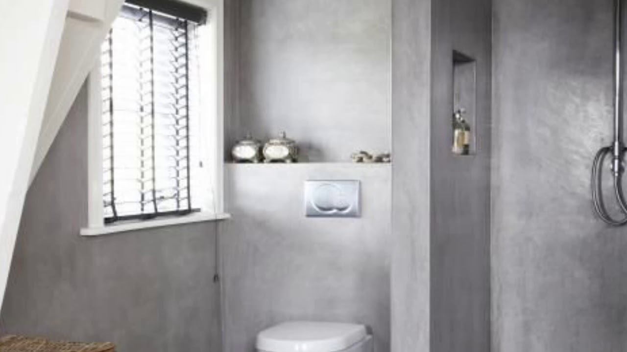 Great Design Ideas for Stylish Ways Use Concrete Bathroom ... on Great Bathroom Ideas  id=52027