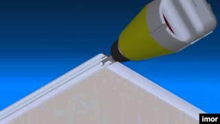 Gambar cover ¿Cómo fabricar las Puertas correderas para armarios?  (Gama Delfine de IMOR)?