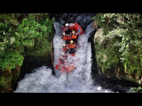 World's Highest Commercially Rafted Waterfall - Play On in New Zealand! in 4K! | DEVINSUPERTRAMP