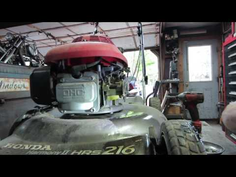 yard sale honda mower repair