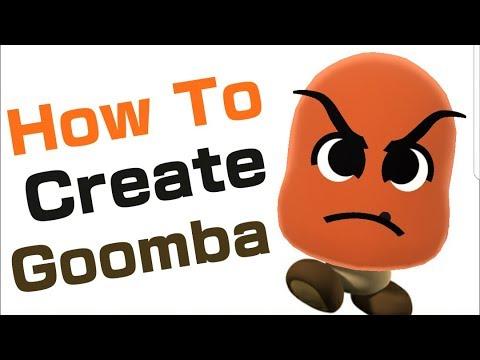 Mii Maker: How To Create Goomba!