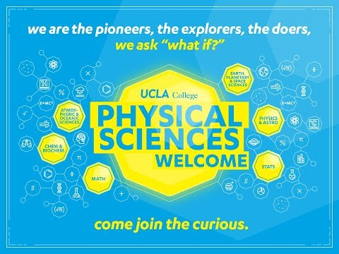 2017 Welcome for New Physical Sciences Students