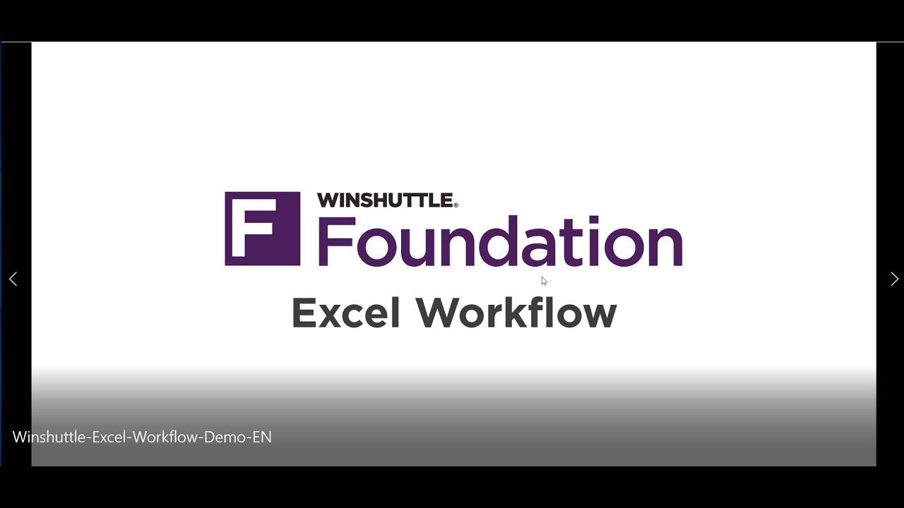 SAP Excel Upload Winshuttle Foundation SAP Software Demo