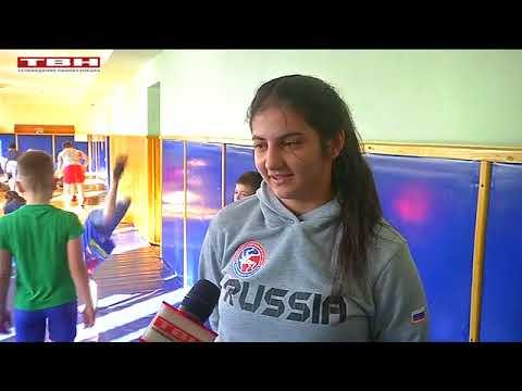 Победа на первенстве России по вольной борьбе