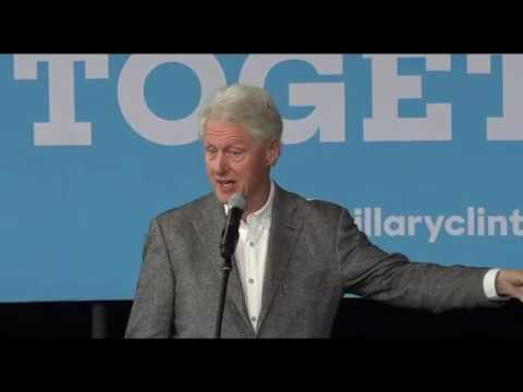 Bill Clinton Campaigns For Hillary Clinton in Saginaw MI FULL Speech 10/3/16
