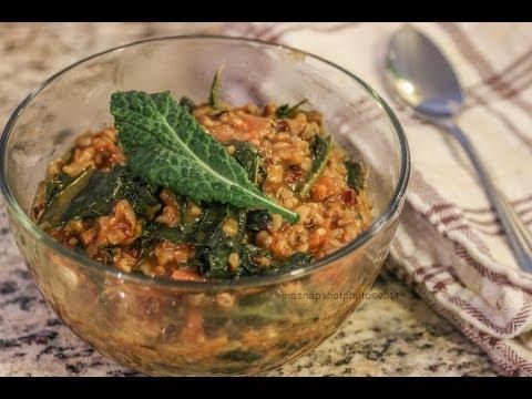 Wild Rice & Kale Pilaf – Easy Vegan Recipe