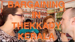 Kerala India Thekkady VILLAGE SHOPPING Dutchified