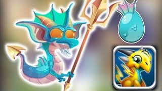 How to Get Poseidon Dragon 100% Real! Dragon City Mobile!