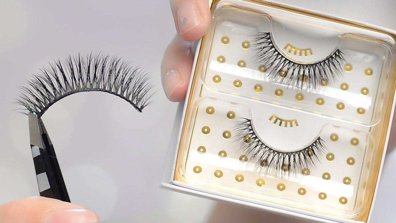 6eada743cd0 Monroe 3D Silk Battington Lashes Try On & Review | CORRIE SIDE - YouTube