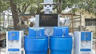 Eastern Europe TV Broadcast on Drought Master Portable Potable Water Recovery System