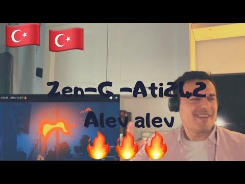 (Turkish Rap) Zen-G ft Ati242 - ALEV ALEV🔥 | Twin Real World Reaction