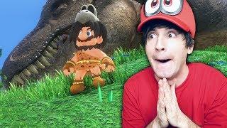 RETORNO A LOS DINOSAURIOS! Super Mario Odyssey #16