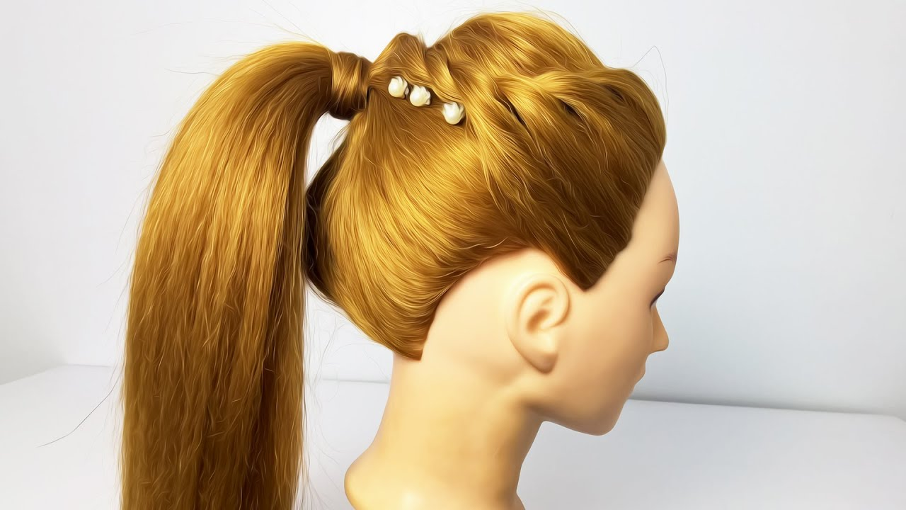 Easy Ponytail Hairstyles For girl | New Hairstyle For Girls | Cute Hair Style - YouTube