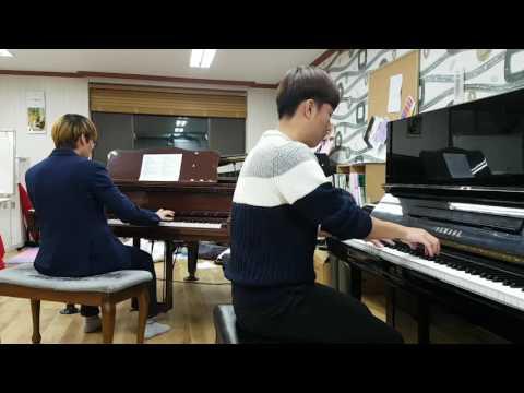 Mozart - Piano Sonata for two piano K.448 Mov.1 / 박성빈,  이예성