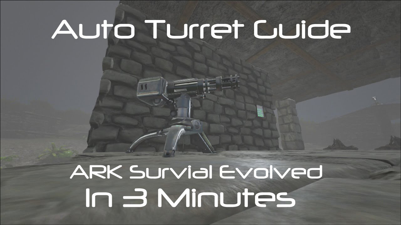 Auto Turret - Official ARK: Survival Evolved Wiki