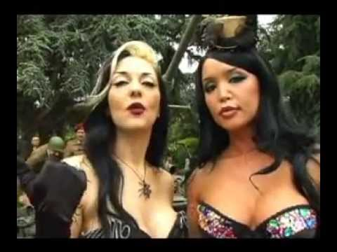Playboy Mansion with Metal Sanaz
