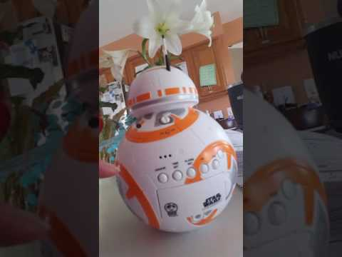 Star wars BB-8 alarm clock from Target Review