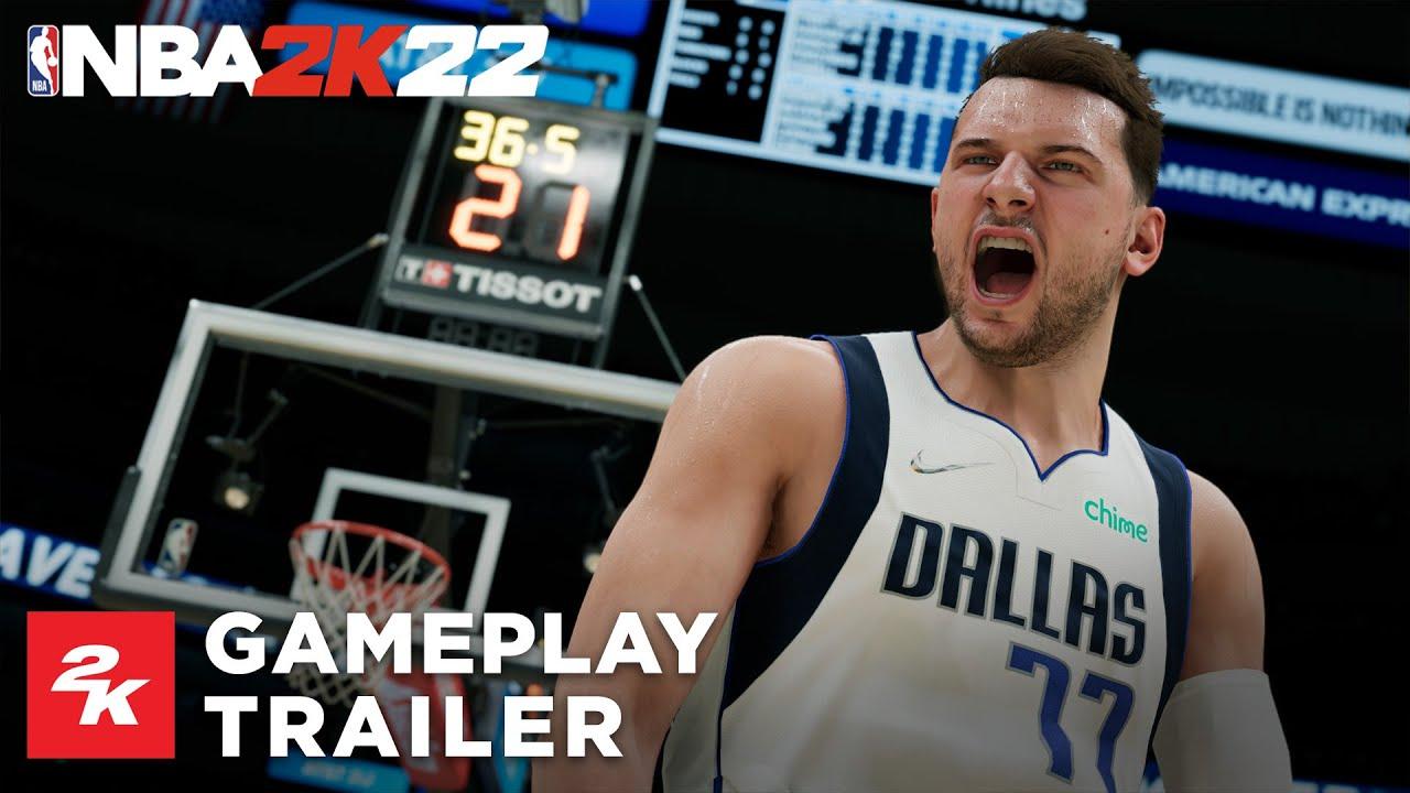 NBA 2K22 | Gameplay Reveal Trailer - YouTube