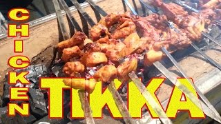 Chicken Tikka And Seekh Kebab