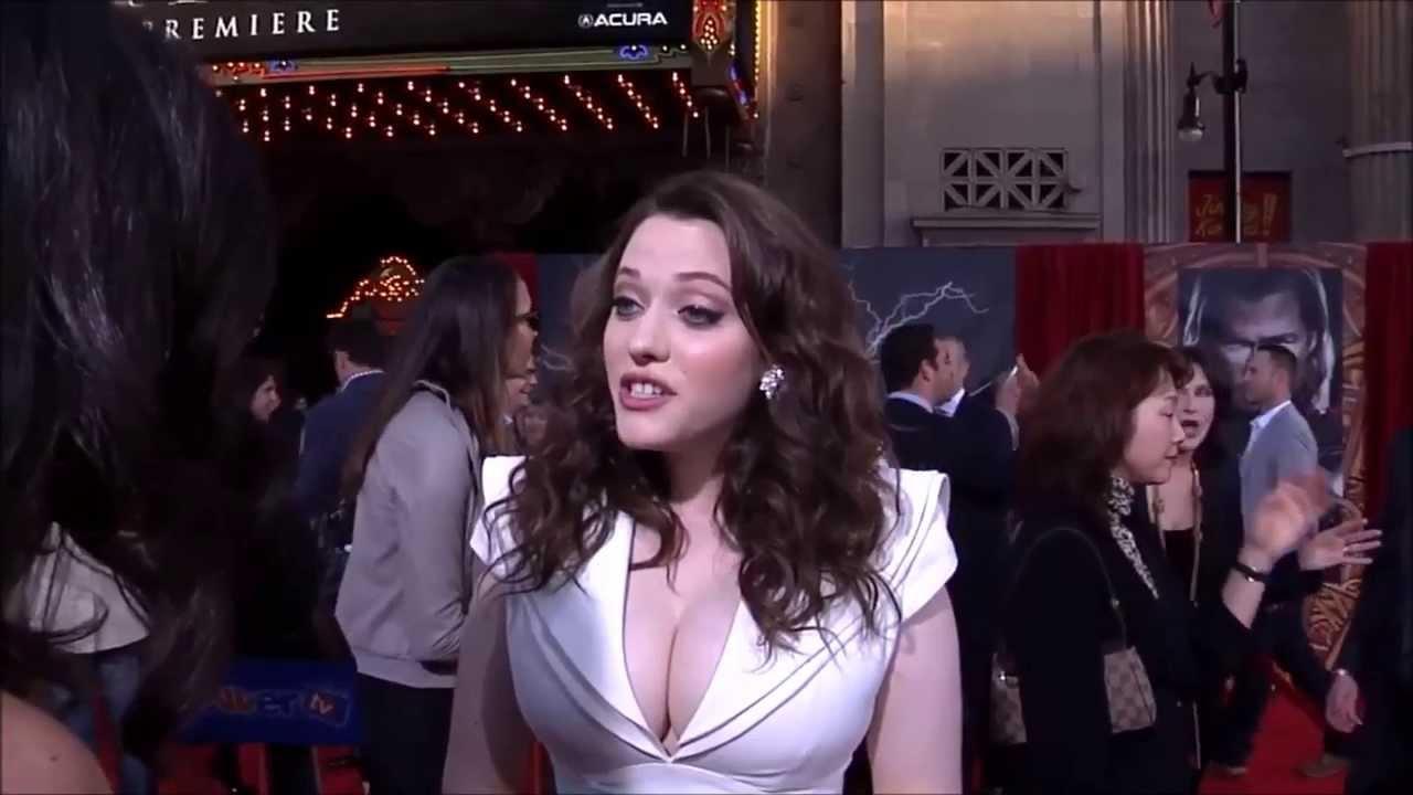 Kat Dennings Big Boobs Thor Premiere 2011