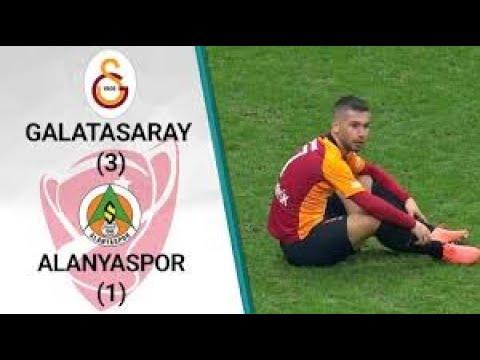 Galatasaray 3-1 Alanyaspor - ZTK Geniş Maç Özeti - 12.02.2020
