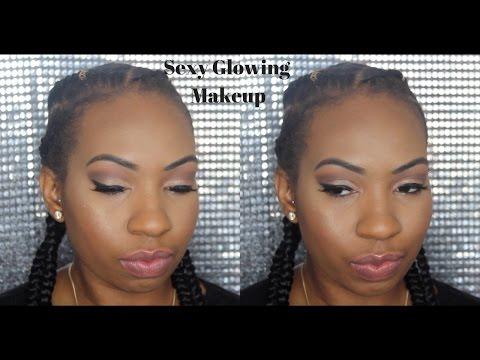 Sexy Glowing Makeup || Mallory Jae.