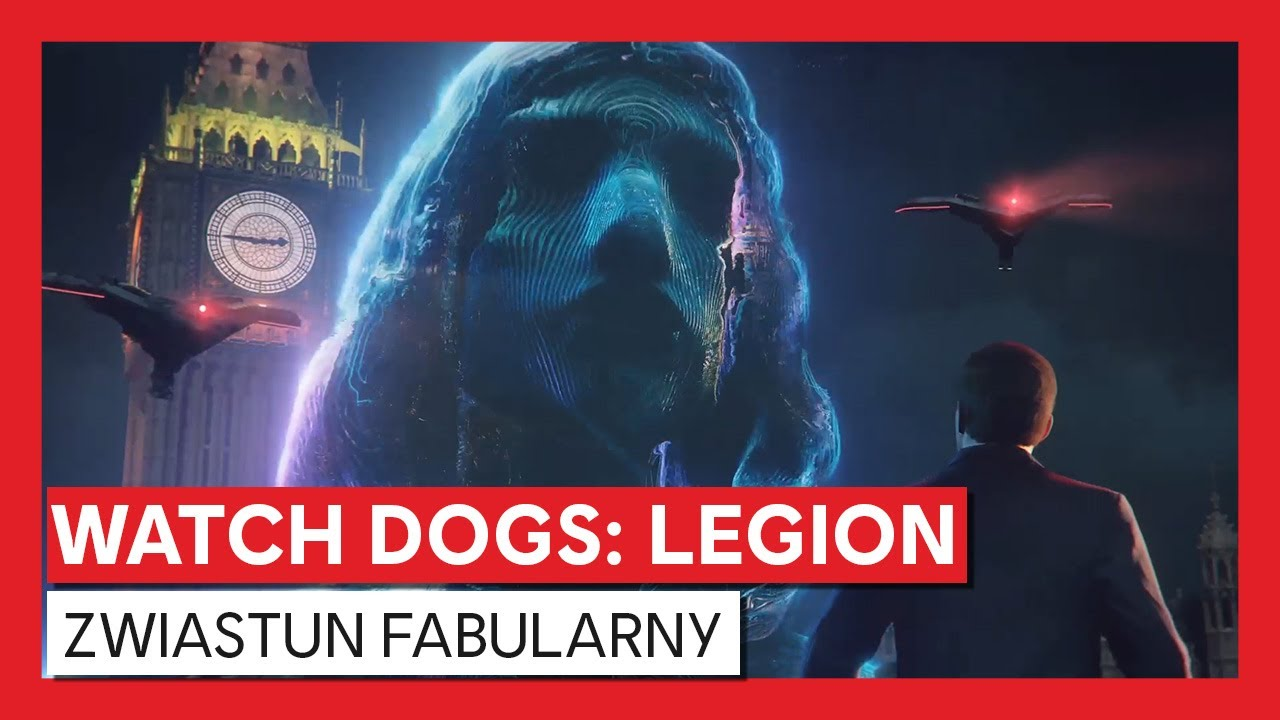 Watch Dogs: Legion – zwiastun fabularny