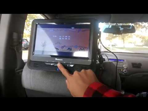 naviskauto 9 dual screen car headrest dvd player review. Black Bedroom Furniture Sets. Home Design Ideas