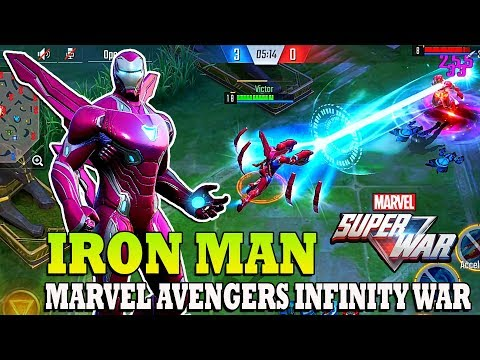 MARVEL Super War CBT 2nd - Iron Man Skin Marvel Avengers Infinity War (Android/IOS)