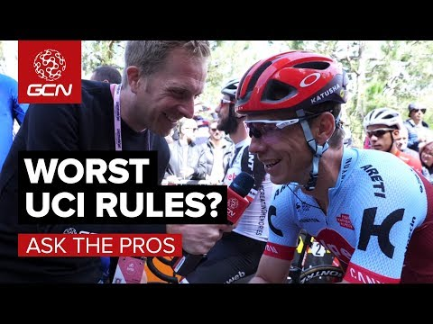 Worst UCI Rules? | GCN Asks The Pros At The Giro d'Italia