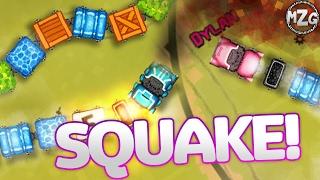 Snake Trains!? - SQUAKE Gameplay - Online Multiplayer Snake!