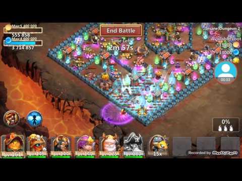 Castle Clash Insane 2-1 3 Flame