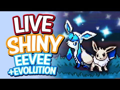 Live Shiny Eevee After 406 Soft Resets + Evolution - SBQ #13 - Pokemon Heart Gold
