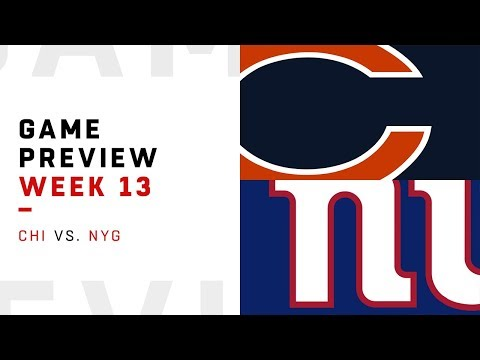 Chicago Bears vs. New York Giants | Week 13 Game Preview | Move the Sticks