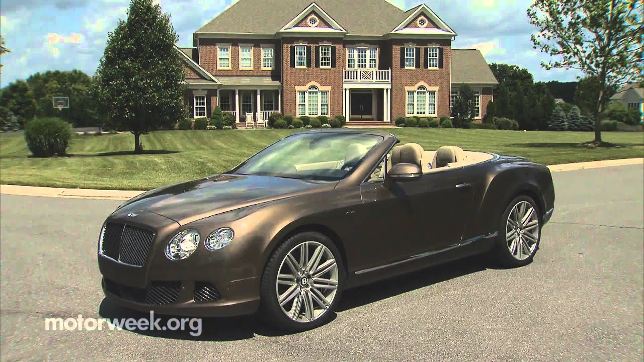 2014 bentley continental gtc