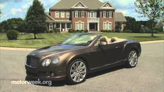 Bentley Continental GT Speed Convertible 2014 Videos