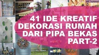 41 Ide Kreasi Pipa Bekas Untuk Dekorasi Rumah dan Kebun - PART 2