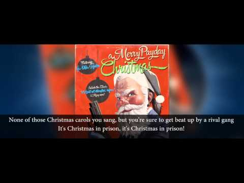 A Merry Payday Christmas - Christmas In Prison (with lyrics)