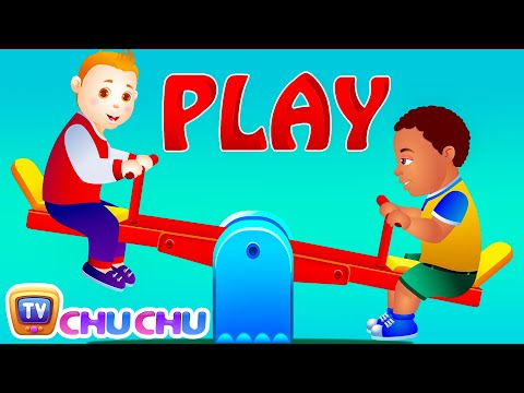 Thumbnail: Let's Play In The Park! - Park Songs & Nursery Rhymes For Children | #readalong with ChuChu TV