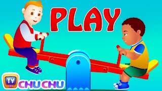 Let S Play In The Park Park Songs Nursery Rhymes For Children Readalong With ChuChu TV