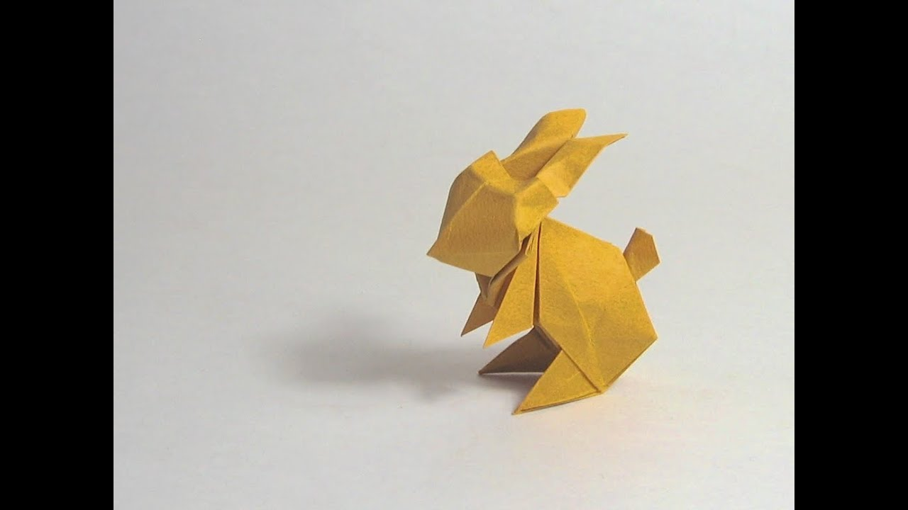 Easy Origami Rabbit - How to Make Rabbit Step by Step - YouTube | 720x1280