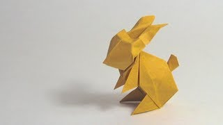 Easter Origami Instructions: Rabbit (jun Maekawa)