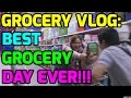 GROCERY VLOG: BEST GROCERY DAY EVER!!!