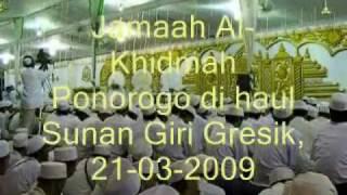alkhidmah ponorogo manaqib